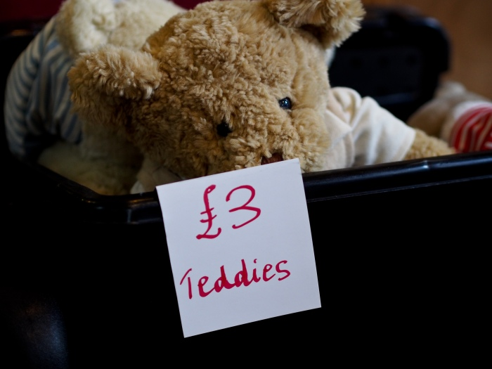 Weekly Photo Challenge: £3 Teddies