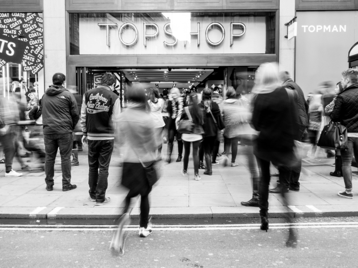 All roads lead to Topshop. At least for the women, they do.
