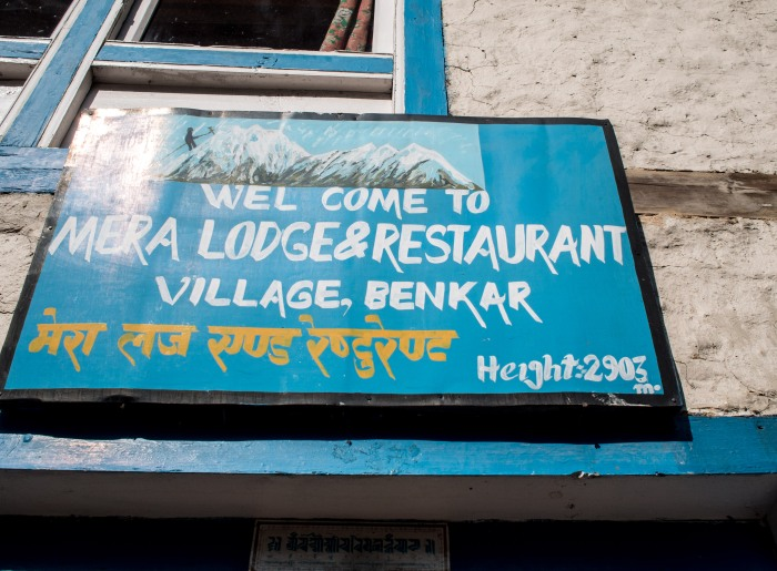 Nepalese Signs